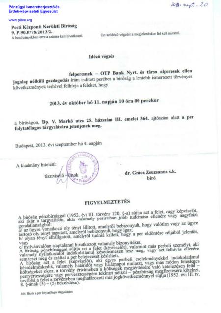 PKKB Idezes 2013.10.11