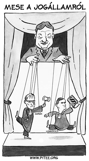 Mese a Jogállamról - Lenkovics, Darák, Orbán