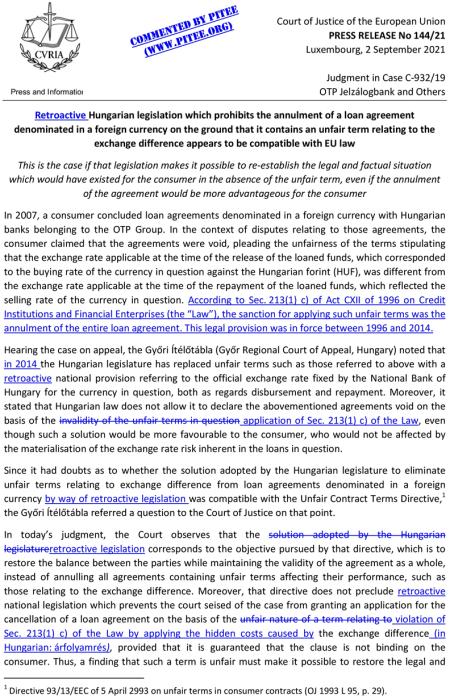 20210902-ECJ-Press Release C-932-19 OTP cp210144en (markup) (1)