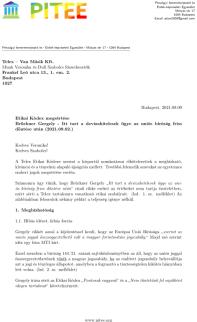 Nyilt Level - Telex - Bruckner Gergecl Curia C-932-19